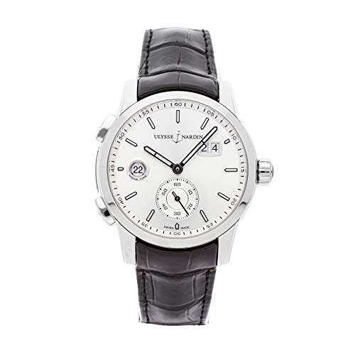 Ulysse Nardin Dual Time Mechanical (Automatic) Silver Dial Mens Watch