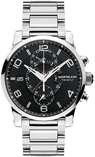 Montblanc Timewalker Chronograph Mens Watch 104286