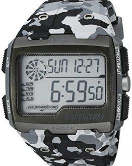 Timex Men's Grid Shock | Chronograph Hydration Gray Camoflauge Watch
