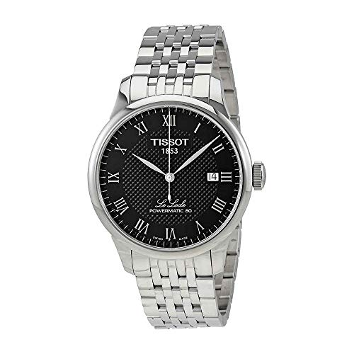 Tissot Men's Le Locle Powermatic 80 - Black/Grey One Size