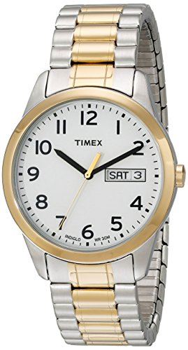 Timex Men's South Street Sport Brown Croco Pattern Leather