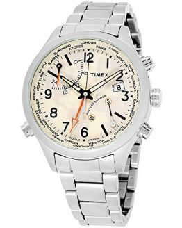 Timex The Waterbury Quartz Movement Cream Dial Men's Watch