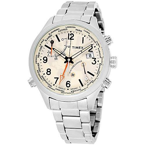 Timex The Waterbury Quartz Movement Cream Dial Men's Watch