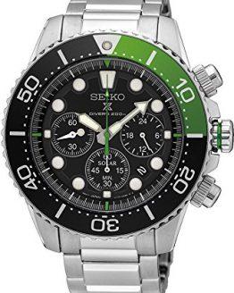 SEIKO Prospex Sea Diver's 200m Chronograph Solar Sports Watch Green SSC615P1