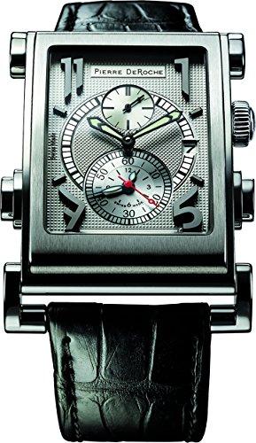 Pierre De Roche Splitrock Black Big Numbers Men's Watch SPR30001ACI0-004CRO