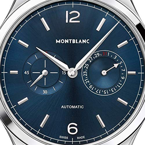 Montblanc Heritage Automatic Blue Dial Men's Watch 116244
