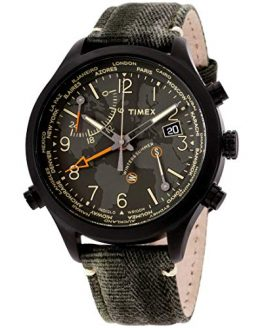 Timex Waterbury Quartz Movement Green Dial Men's Watch