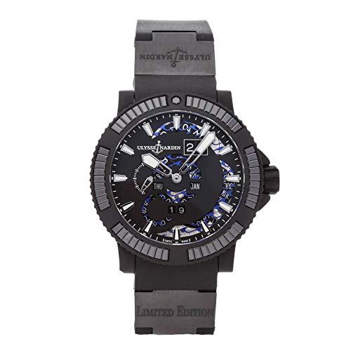 Ulysse Nardin Marine Mechanical (Automatic) Black Dial Mens Watch