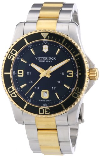 Victorinox Swiss Army Men's Quartz Watch Analogue Display and Stainless Steel