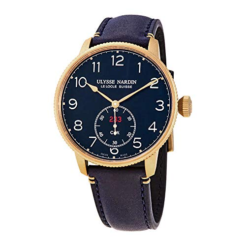 Limited Edition Bronze Military Ulysse Nardin Marine Chronometer Torpilleur