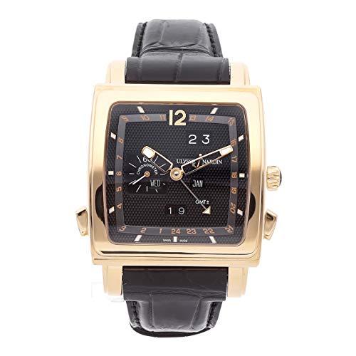 Ulysse Nardin Quadrato Mechanical (Automatic) Black Dial Mens Watch
