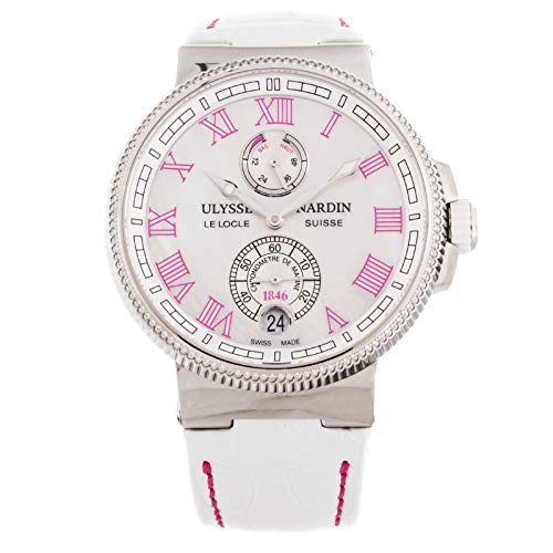 Ulysse Nardin Marine Mechanical (Automatic) Mother of Pearl Dial Womens Watch