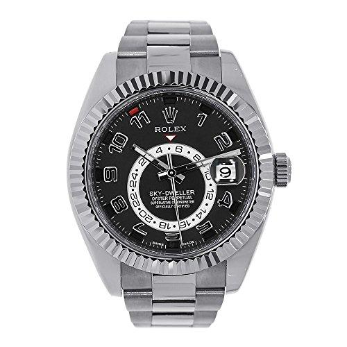 NEW Rolex Sky Dweller 18K White Gold Mens watch 326939