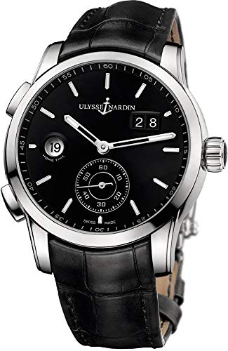 Ulysse Nardin Dual Time Manufacture Black Dial Men's Watch