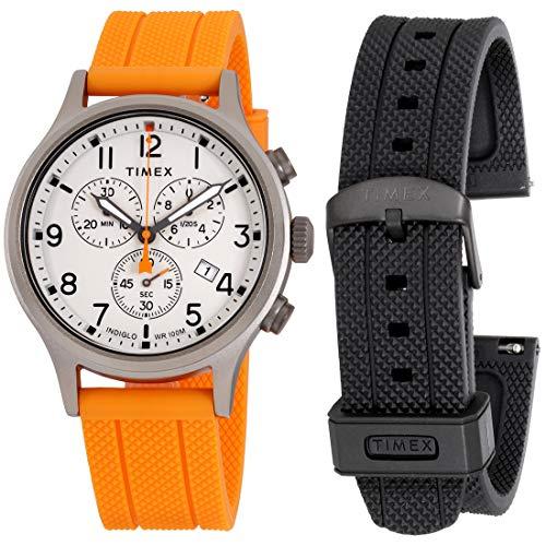 Timex Weekender Quartz Movement Cream Dial Unisex Watch