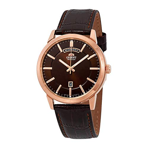 Orient Contemporary Watch FEV0U002TH - Leather Gents Automatic Analogue