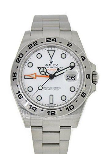 Rolex Explorer II White Dial Stainless Steel Men's Watch 216570
