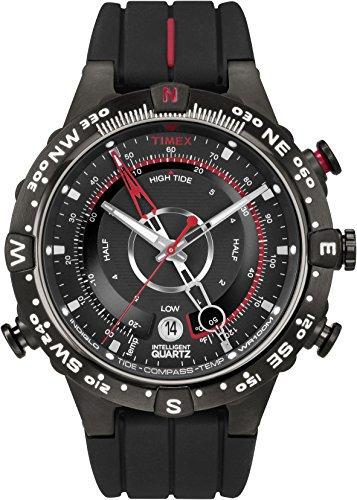 Timex Men's Intelligent Quartz Tide Temp Compass Black