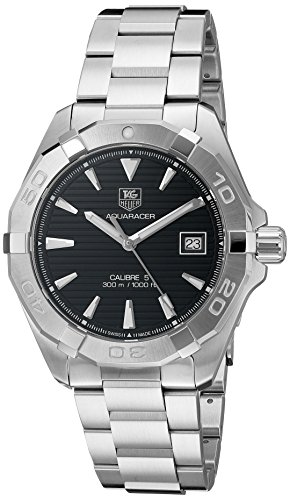 TAG Heuer Men's 'Aquaracer' Swiss Automatic Stainless Steel Dress Watch