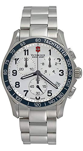 Victorinox Swiss Army Men's Chrono Classic Silver Dial Watch