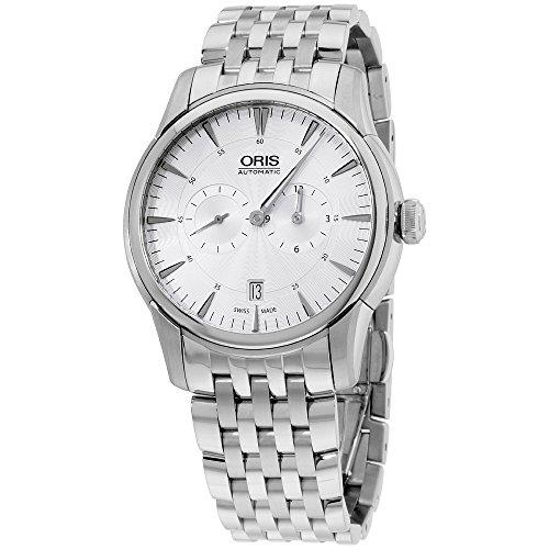 Oris Artelier Automatic Movement Silver Dial Men's Watch 74976674051MB