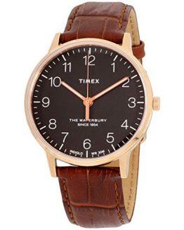 Timex The Waterbury Classic Quartz Movement Black Dial Men's Watch