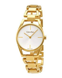 Calvin Klein Women's Analogue Quartz Watch with Stainless Steel Strap K7L23546
