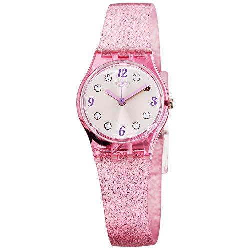 Swatch Originals Quartz Movement Silver Dial Ladies Watch LP132C
