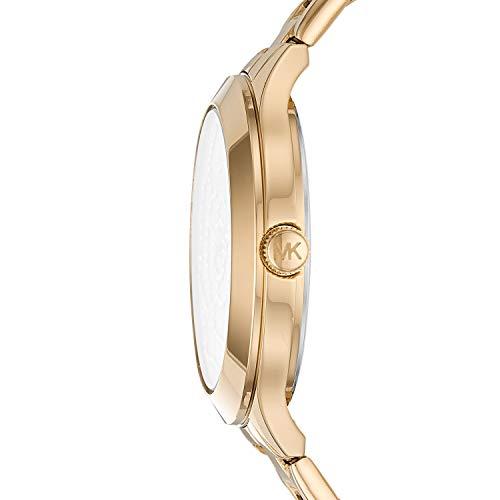Michael Kors Women's Slim Runway Gold Tone Stainless Steel Watch MK3992