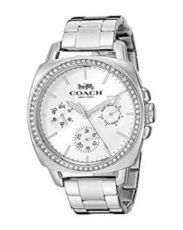 COACH Women's Boyfriend Silver One Size