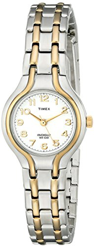 Timex Women's T27191 Linwood Street Two-Tone Stainless Steel Bracelet Watch