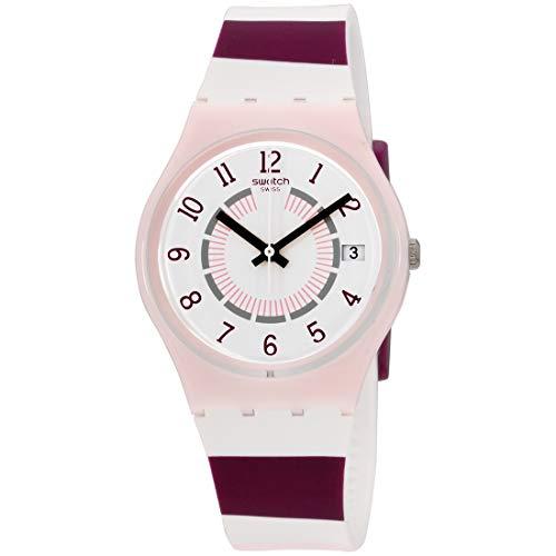 Swatch Miss Yacht Quartz Movement White Dial Ladies Watch GP402
