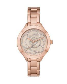 Michael Kors Women's Slim Runway Rose Gold Tone Stainless Steel Watch MK3993