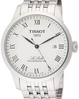 Tissot Powermatic 80 Silver Dial Stainless Steel Men's Watch