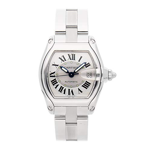 Cartier Roadster Mechanical (Automatic) Silver Dial Mens Watch