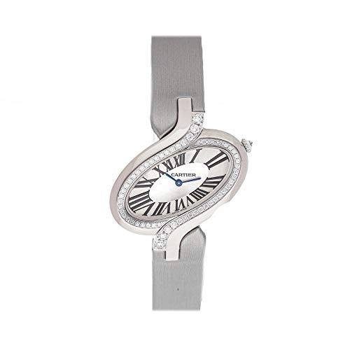 Cartier Delices Quartz (Battery) Silver Dial Womens Watch