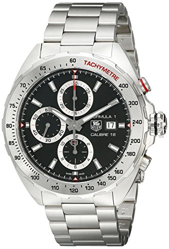 TAG Heuer Men's Analog Display Swiss Automatic Silver Watch