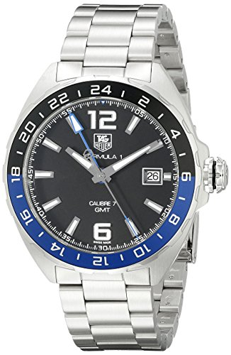 TAG Heuer Men's Formula 1 Analog Display Swiss Automatic Silver Watch