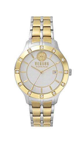 Versus by Versace Women's Analogue Quartz Watch with Stainless Steel Strap