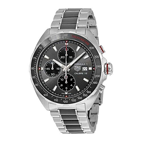 TAG Heuer Men's Formula 1 Swiss-Automatic Watch with Stainless-Steel Strap