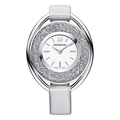 Swarovski Crystalline Oval Gray Ladies Watch