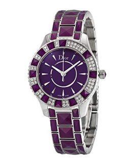 Dior Christal Quartz Diamond Ladies Watch