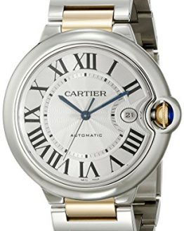 Cartier Men's Ballon Bleu Stainless Steel and 18K Gold Automatic Watch