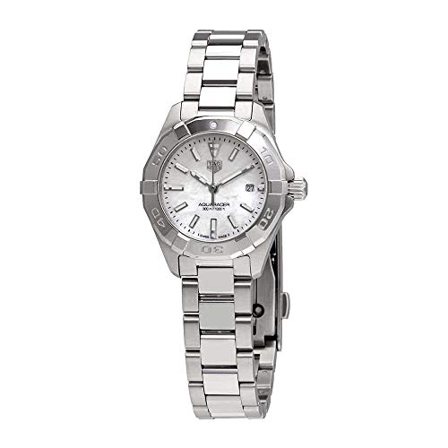 Tag Heuer Aquaracer White Mother of Pearl Dial Ladies Watch