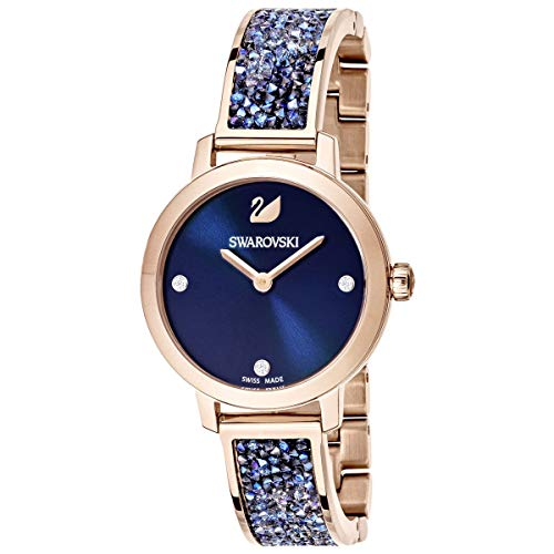 SWAROVSKI Crystal Authentic Cosmic Rock Watch, Metal Strap
