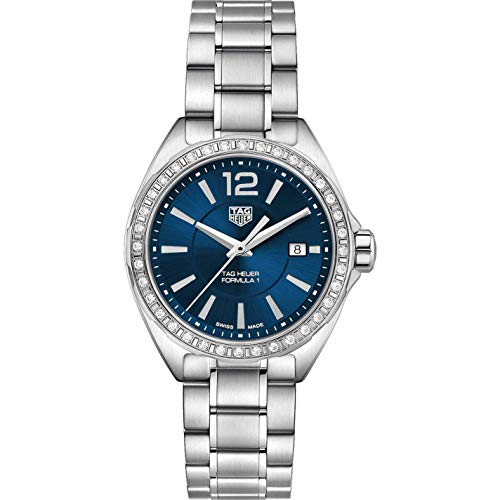 Tag Heuer Formula 1 Blue Dial Ladies Diamond Watch