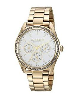 COACH Women's Preston Gold Plated One Size