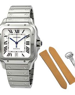 Cartier Santos de Cartier Large Model Automatic Steel Men's Watch