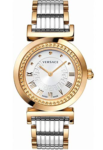Versace Women's Vanity Rose-Gold Ion-Plated Stainless Steel Watch
