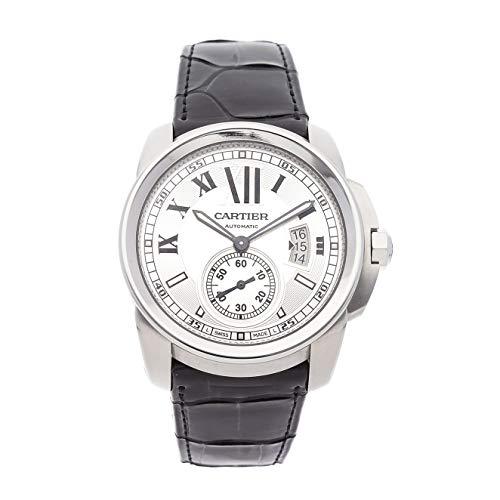 Cartier Calibre de Cartier Mechanical (Automatic) Silver Dial Mens Watch